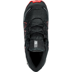 Salomon XA Pro 3D CSWP Zapatillas Jóvenes, black/black/high risk red